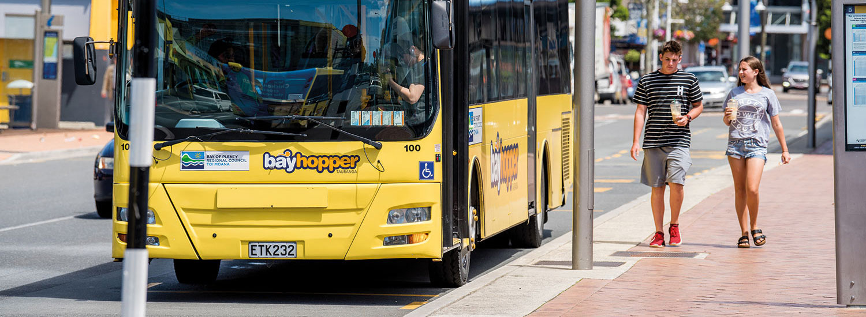 Buses and transport | Bay of Plenty Regional Council | Toi Moana