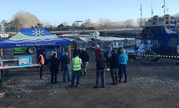 Community open day, Kope Canal remediation project.
