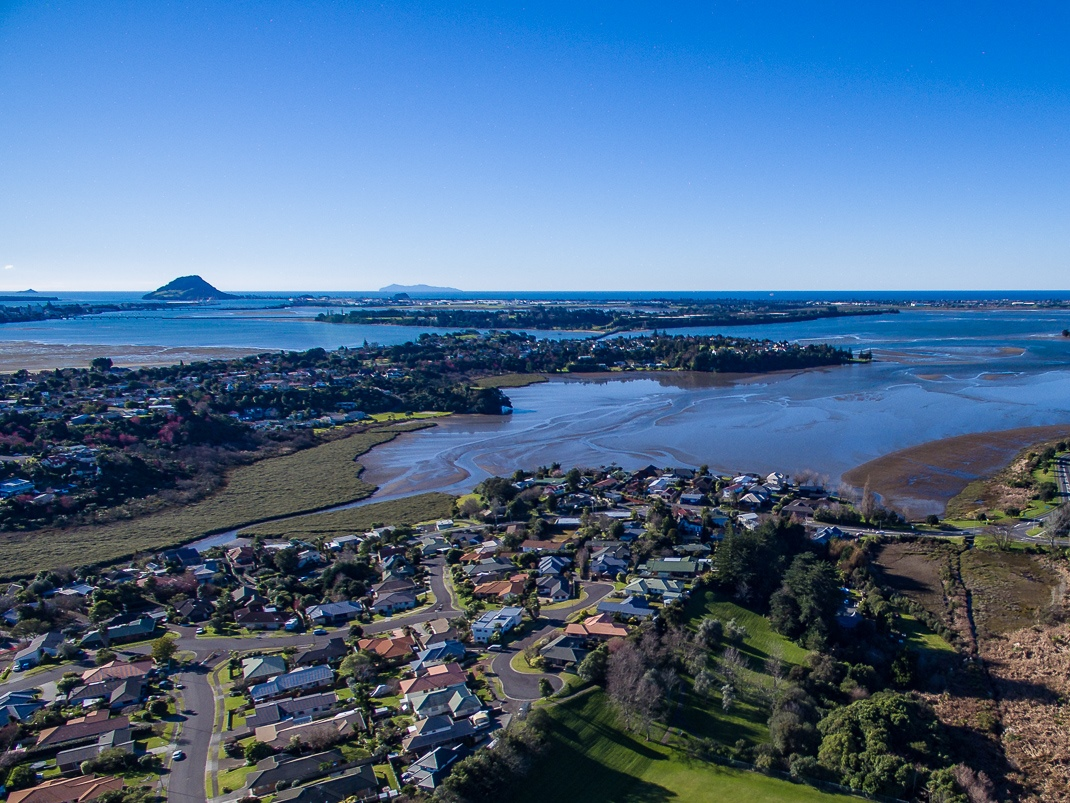 Tauranga Harbour from Welcome Bay
