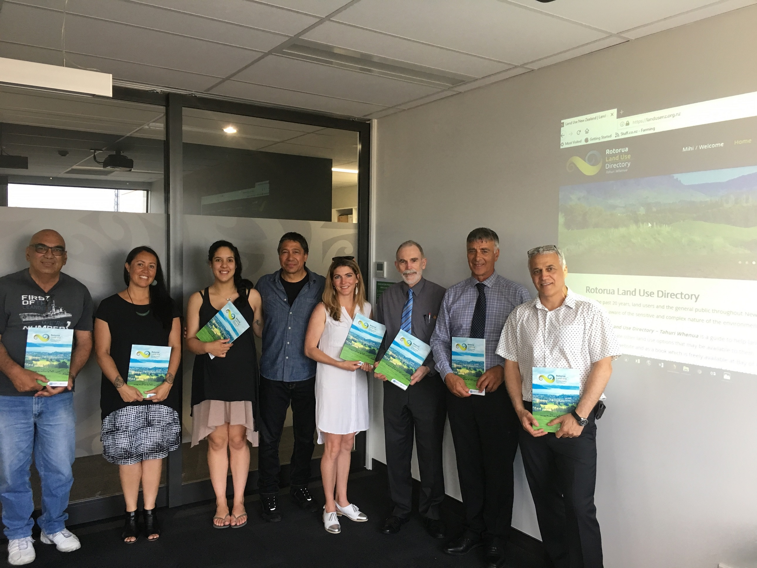 Lnluf Land Use Directory Launch