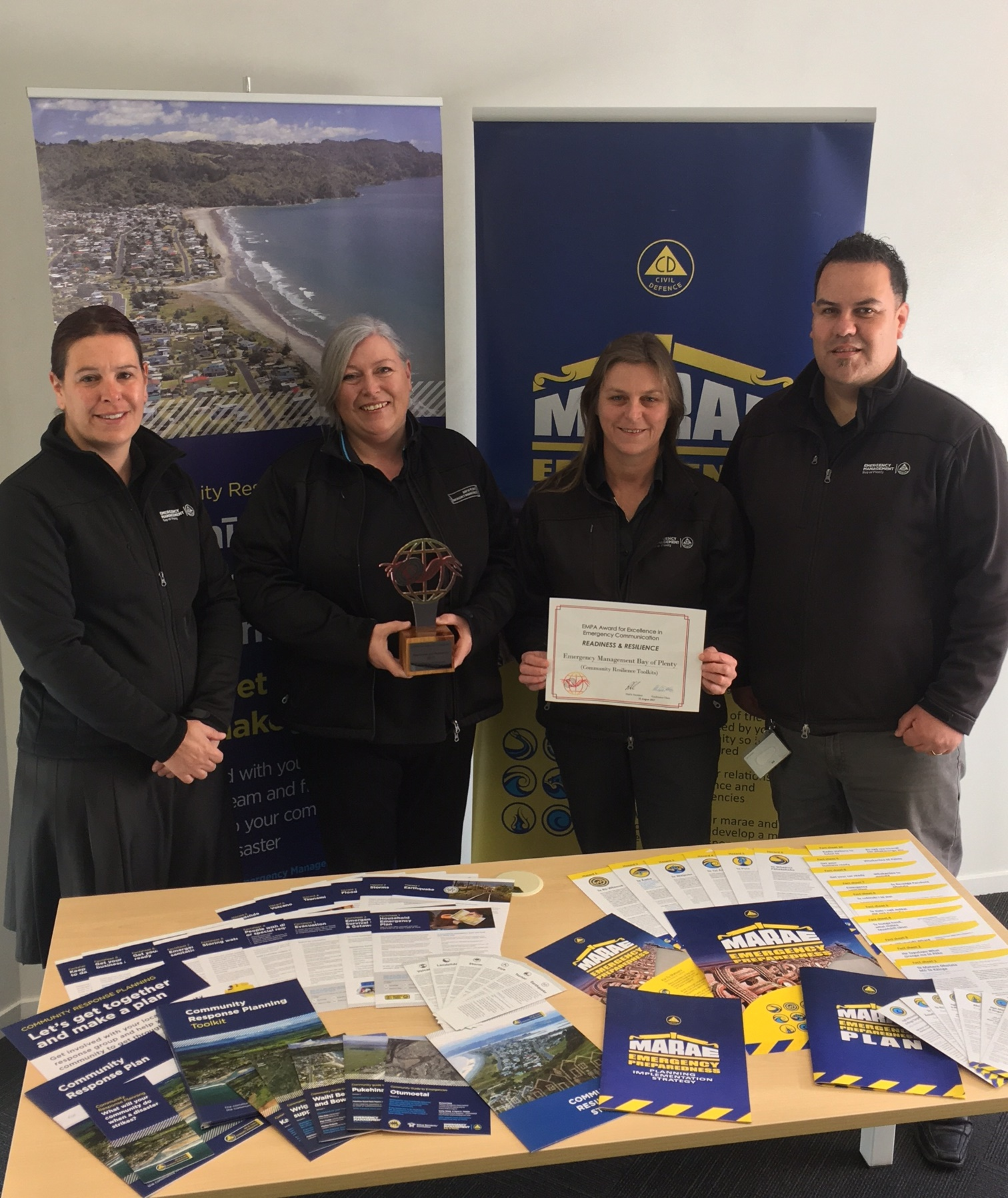 Win for Bay of Plenty Civil Defence Emergency Management Group