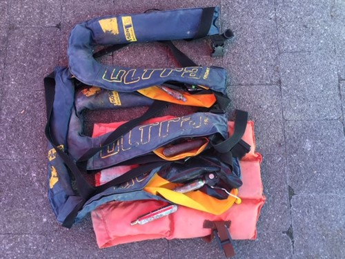 old lifejackets
