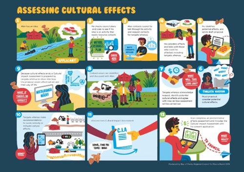 Cultural effects assessment process