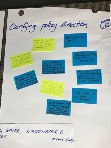 Clarifying Policy Direction